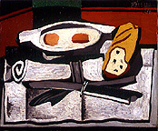 Pablo Picasso: Still Life, 1924 - Painting