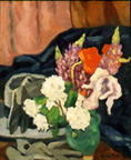 Louis Valtat: Hat, Gloves and Flowers - Painting
