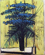 Bernard Buffet: Flowers, 1966 - Painting